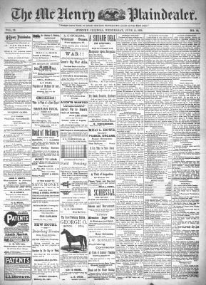 McHenry Plaindealer (McHenry, IL), 15 Jun 1898