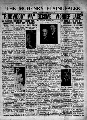 McHenry Plaindealer (McHenry, IL), 10 Feb 1938