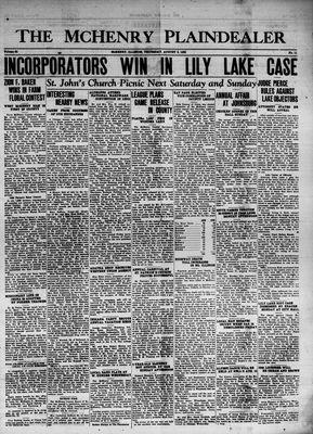 McHenry Plaindealer (McHenry, IL), 3 Aug 1939