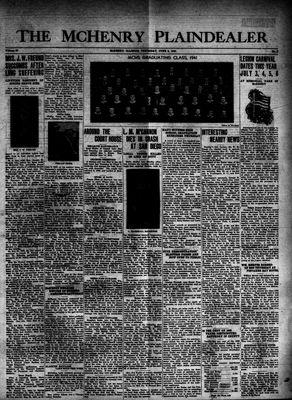 McHenry Plaindealer (McHenry, IL), 5 Jun 1941