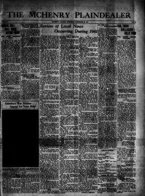 McHenry Plaindealer (McHenry, IL), 25 Dec 1941