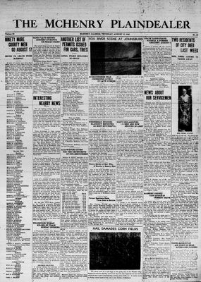 McHenry Plaindealer (McHenry, IL), 13 Aug 1942