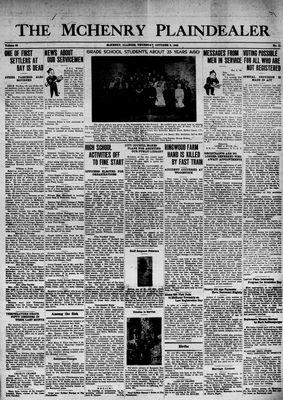 McHenry Plaindealer (McHenry, IL), 8 Oct 1942