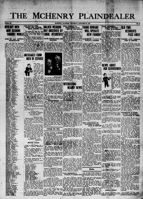 McHenry Plaindealer (McHenry, IL), 22 Oct 1942
