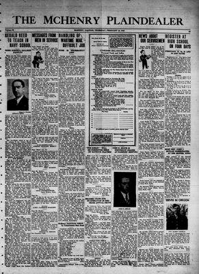 McHenry Plaindealer (McHenry, IL), 18 Feb 1943