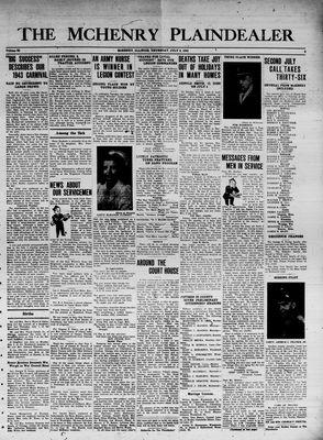McHenry Plaindealer (McHenry, IL), 8 Jul 1943
