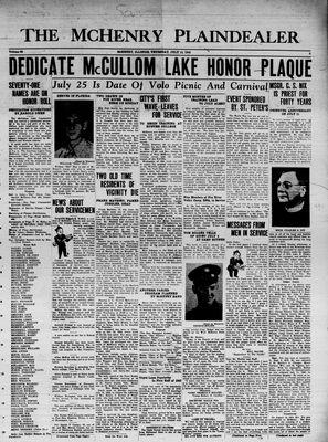 McHenry Plaindealer (McHenry, IL), 15 Jul 1943