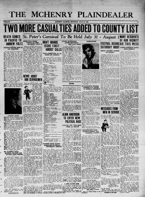 McHenry Plaindealer (McHenry, IL), 29 Jul 1943