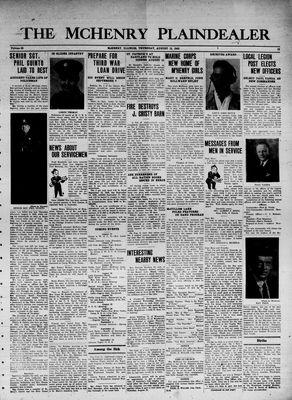 McHenry Plaindealer (McHenry, IL), 12 Aug 1943