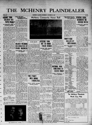 McHenry Plaindealer (McHenry, IL), 21 Oct 1943