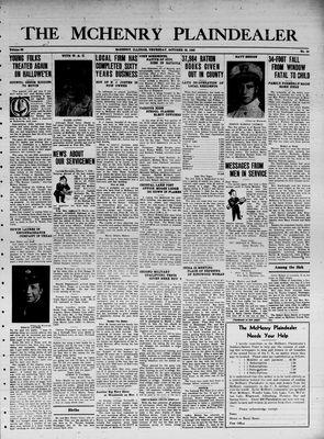 McHenry Plaindealer (McHenry, IL), 28 Oct 1943