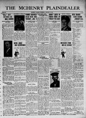 McHenry Plaindealer (McHenry, IL), 13 Jan 1944