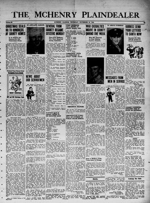 McHenry Plaindealer (McHenry, IL), 30 Nov 1944