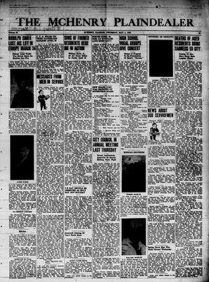 McHenry Plaindealer (McHenry, IL), 3 May 1945
