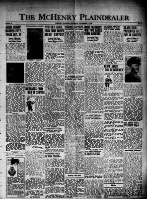 McHenry Plaindealer (McHenry, IL), 1 Nov 1945