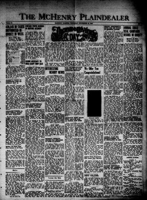 McHenry Plaindealer (McHenry, IL), 28 Nov 1946