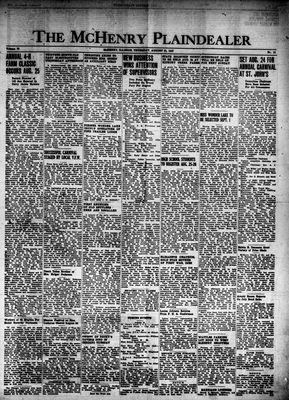 McHenry Plaindealer (McHenry, IL), 21 Aug 1947