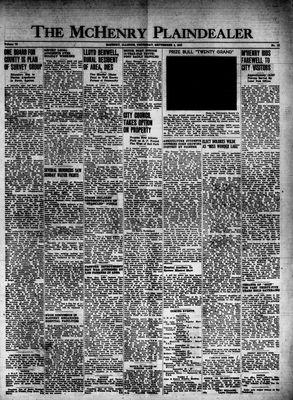McHenry Plaindealer (McHenry, IL), 4 Sep 1947