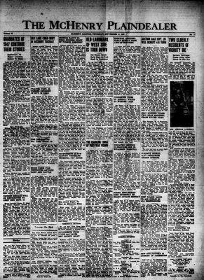 McHenry Plaindealer (McHenry, IL), 11 Sep 1947