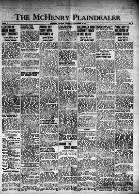 McHenry Plaindealer (McHenry, IL), 6 Nov 1947