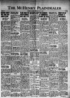 McHenry Plaindealer (McHenry, IL), 13 May 1948
