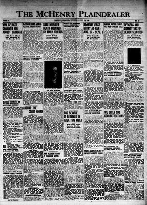 McHenry Plaindealer (McHenry, IL), 22 Jul 1948