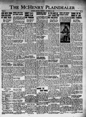 McHenry Plaindealer (McHenry, IL), 16 Sep 1948