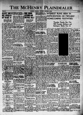 McHenry Plaindealer (McHenry, IL), 14 Oct 1948