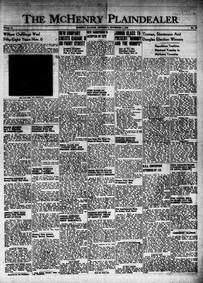 McHenry Plaindealer (McHenry, IL), 4 Nov 1948