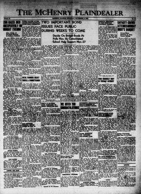 McHenry Plaindealer (McHenry, IL), 11 Nov 1948