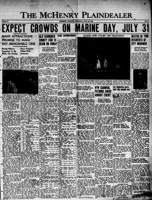 McHenry Plaindealer (McHenry, IL), 28 Jul 1949
