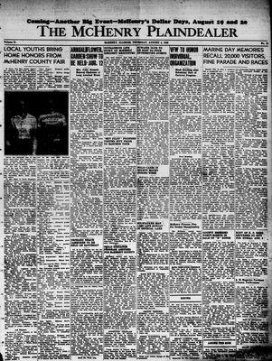 McHenry Plaindealer (McHenry, IL), 4 Aug 1949