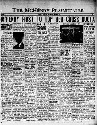 McHenry Plaindealer (McHenry, IL), 9 Mar 1950