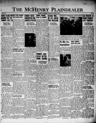 McHenry Plaindealer (McHenry, IL), 27 Apr 1950
