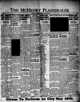 McHenry Plaindealer (McHenry, IL), 25 May 1950