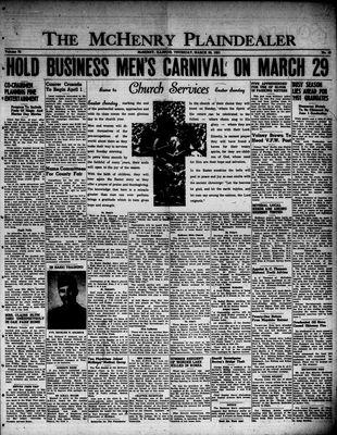McHenry Plaindealer (McHenry, IL), 22 Mar 1951