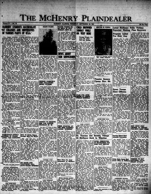 McHenry Plaindealer (McHenry, IL), 20 Sep 1951