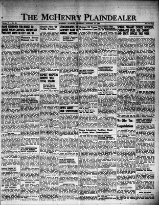 McHenry Plaindealer (McHenry, IL), 17 Jan 1952