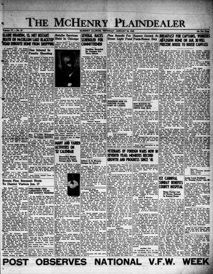 McHenry Plaindealer (McHenry, IL), 24 Jan 1952