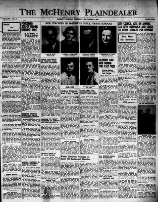 McHenry Plaindealer (McHenry, IL), 4 Sep 1952