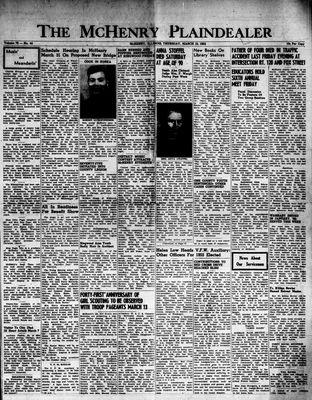 McHenry Plaindealer (McHenry, IL), 12 Mar 1953