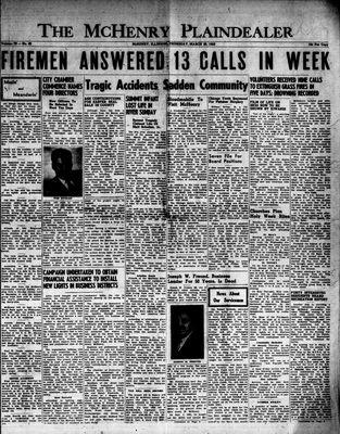 McHenry Plaindealer (McHenry, IL), 26 Mar 1953