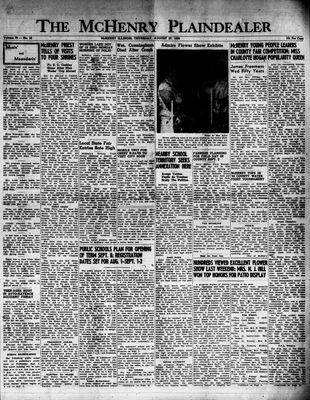 McHenry Plaindealer (McHenry, IL), 27 Aug 1953