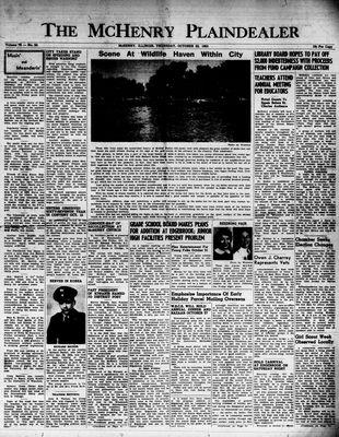 McHenry Plaindealer (McHenry, IL), 22 Oct 1953