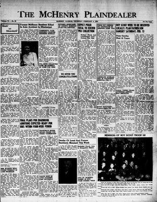 McHenry Plaindealer (McHenry, IL), 4 Feb 1954