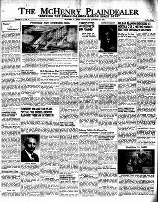 McHenry Plaindealer (McHenry, IL), 27 Oct 1955