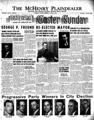 McHenry Plaindealer (McHenry, IL), 19 Apr 1957