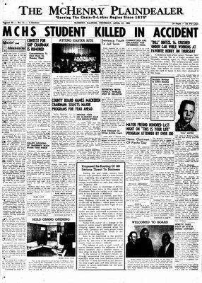 McHenry Plaindealer (McHenry, IL), 21 Apr 1960