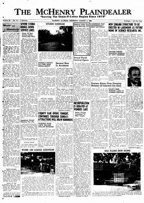 McHenry Plaindealer (McHenry, IL), 4 Aug 1960