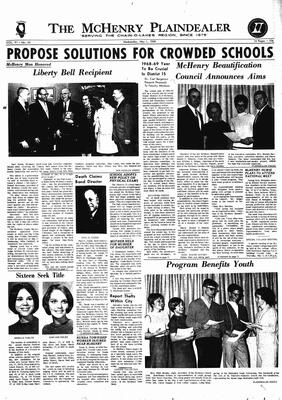 McHenry Plaindealer (McHenry, IL), 1 May 1968